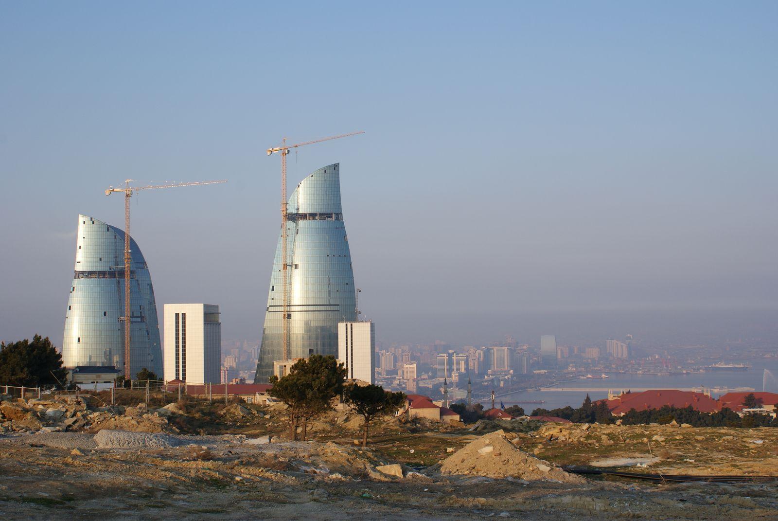Aserbaidschan/ Baku/ Abriss