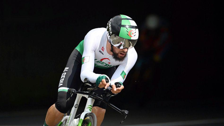 Der algerische Radfahrer Azzedine Lagab bei den Olympischen Spielen: »Ich will kein Opfer sein«