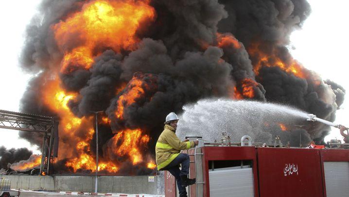 Gaza: Feuer im Kraftwerk