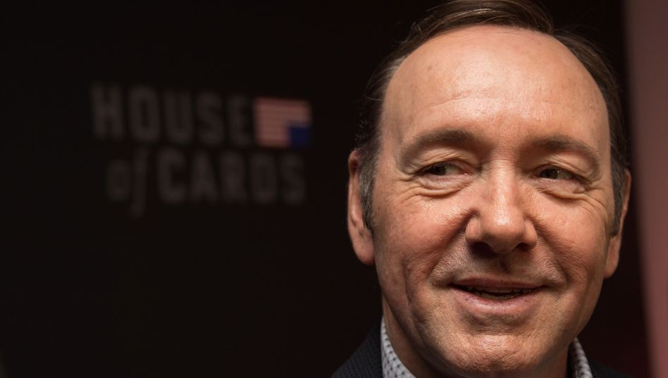 """""""House of Cards""""-Darsteller Kevin Spacey"""