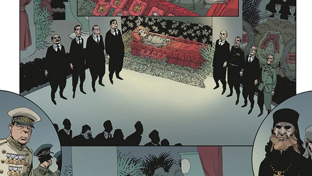 """Comic """"The Death of Stalin"""": Komplizen, Kriecher, Karrieristen"""