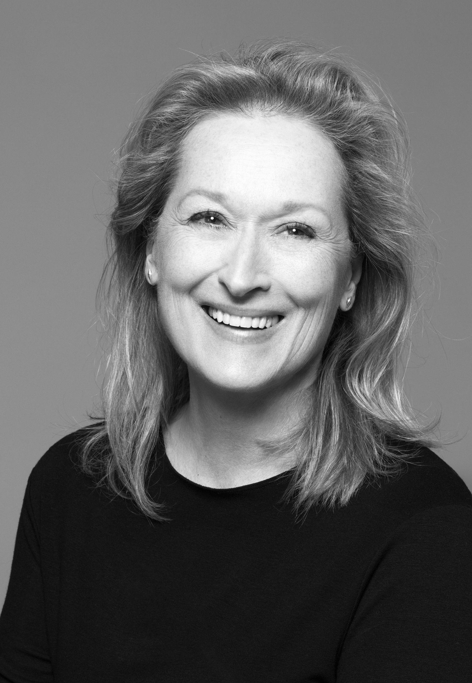 EINMALIGE VERWENDUNG Meryl Streep