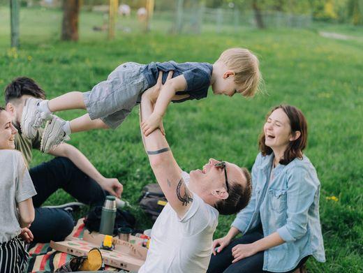 Entspannt in den Feierabend: So klappt es auch mit Kindern
