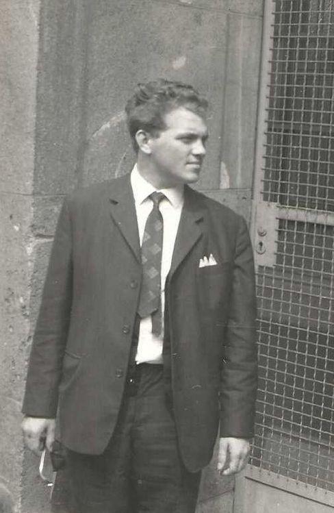Organisator der »Butternacht«: Heimen 1963