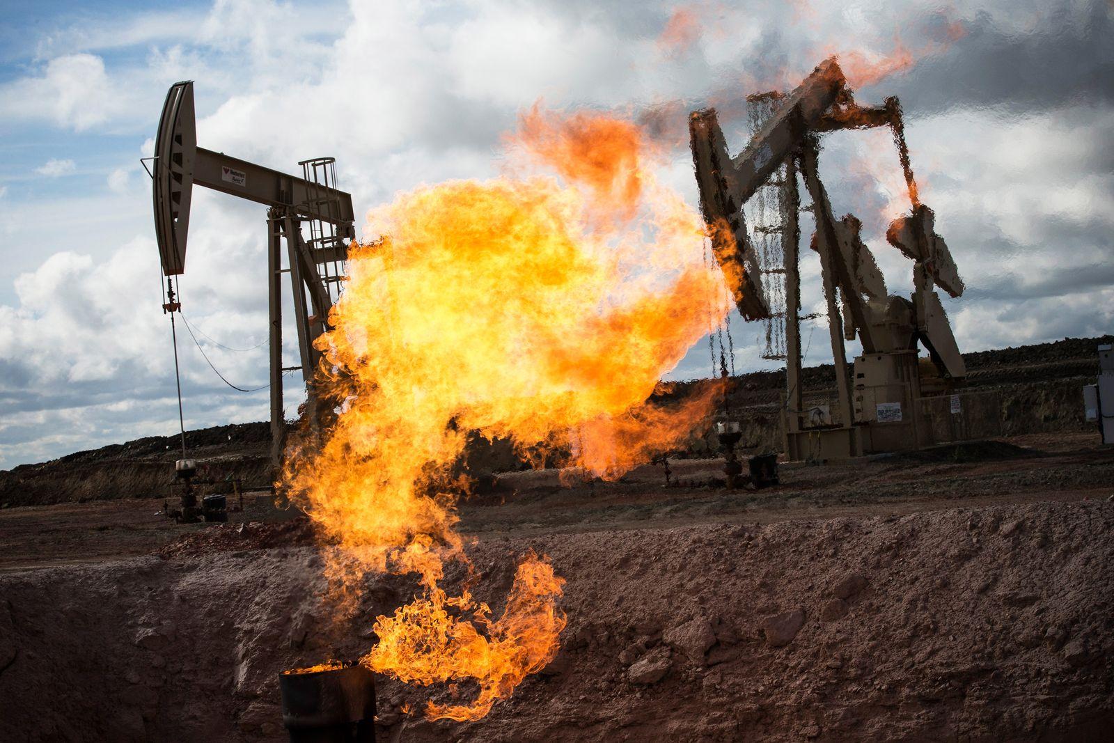Rohöl-Boom North Dakota / Öl / Gas USA / Konjunktur / Wirtschaft / Erdöl