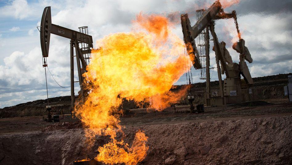 Ölbohrung in North Dakota: Systemische Risiken