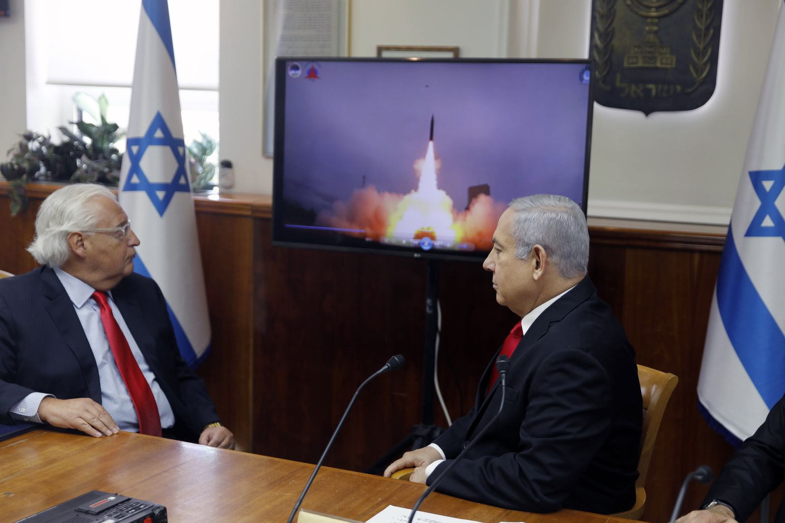 Israel und USA testen erfolgreich Raketen-Abwehrsystem