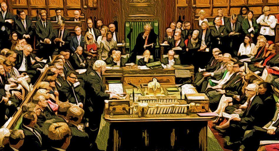 Debatte im Unterhaus: Es wäre traurig, wenn es nicht so unterhaltsam wäre