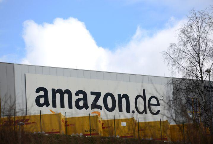 Das Amazon-Logistikcenter in Bad Hersfeld
