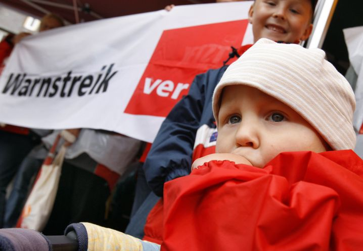 Kita-Warnstreik in Mecklenburg-Vorpommern: Tarifverhandlungen zogen sich monatelang hin