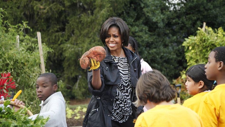 Frühere First Lady Michelle Obama: Kritiker fürchten Rückkehr zu Burgern, Pommes oder Pizza