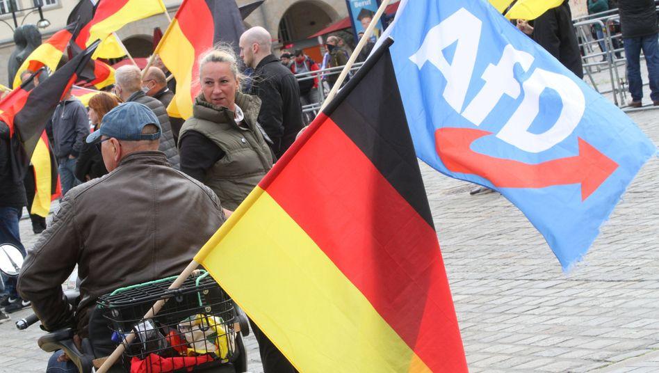 In Rostock veranstaltet die AfD am 16. Mai eine Mahnwache gegen die Corona-Schutzmaßnahmen