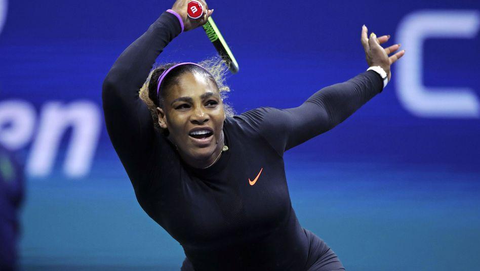 Serena Williams freut sich über schwierige Gegnerinnen zu Beginn eines Turniers