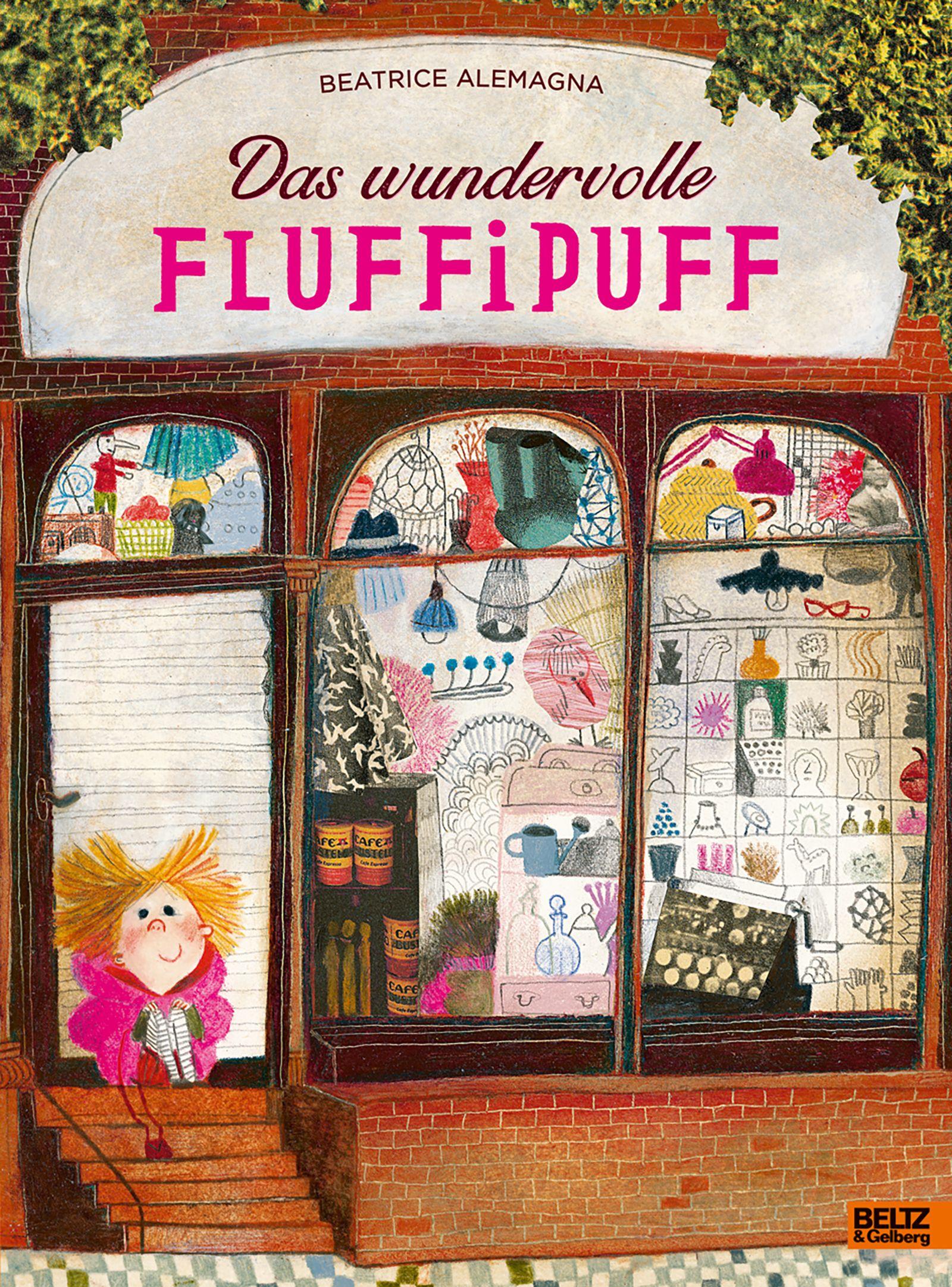 Kinderbücher/ Beatrice Alemagna: Das wundervolle Fluffipuff COVER