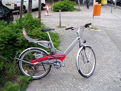 """Fahrrad von """"Call a Bike"""": Hintertür programmiert"""