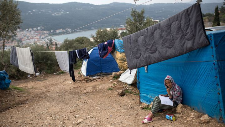 """Migranten auf Samos: """"Ich fühle mich, als würde ich meine Seele verlieren"""""""
