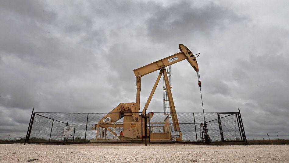 Ölförderung in Reeves County, Texas