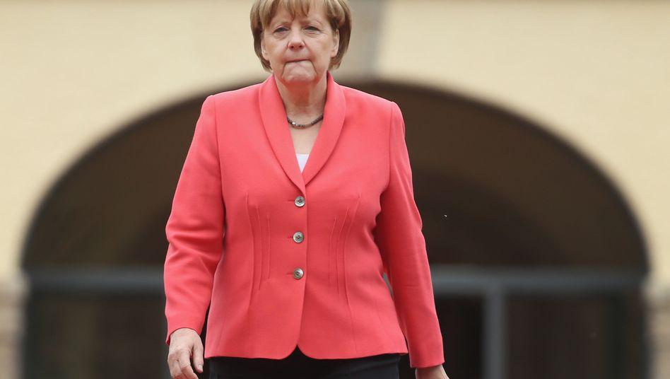 Angela Merkel: Transparenz ist das Letzte, was die Bundeskanzlerin will