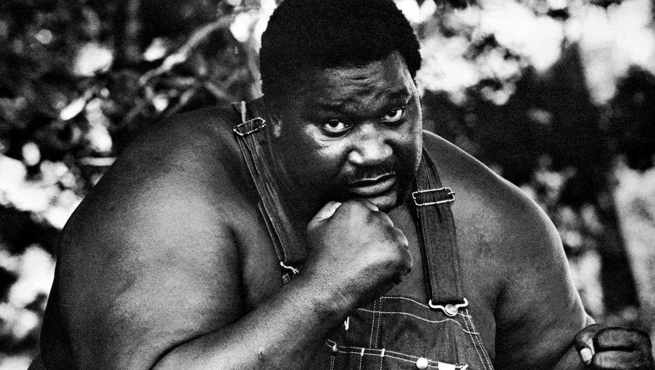 Boxer und Ali-Gegner Buster Mathis: Nach der Karriere belud er Trucks