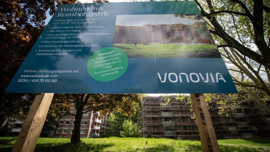 Vonovia-Baustelle: Mehr Geld für Neubauten