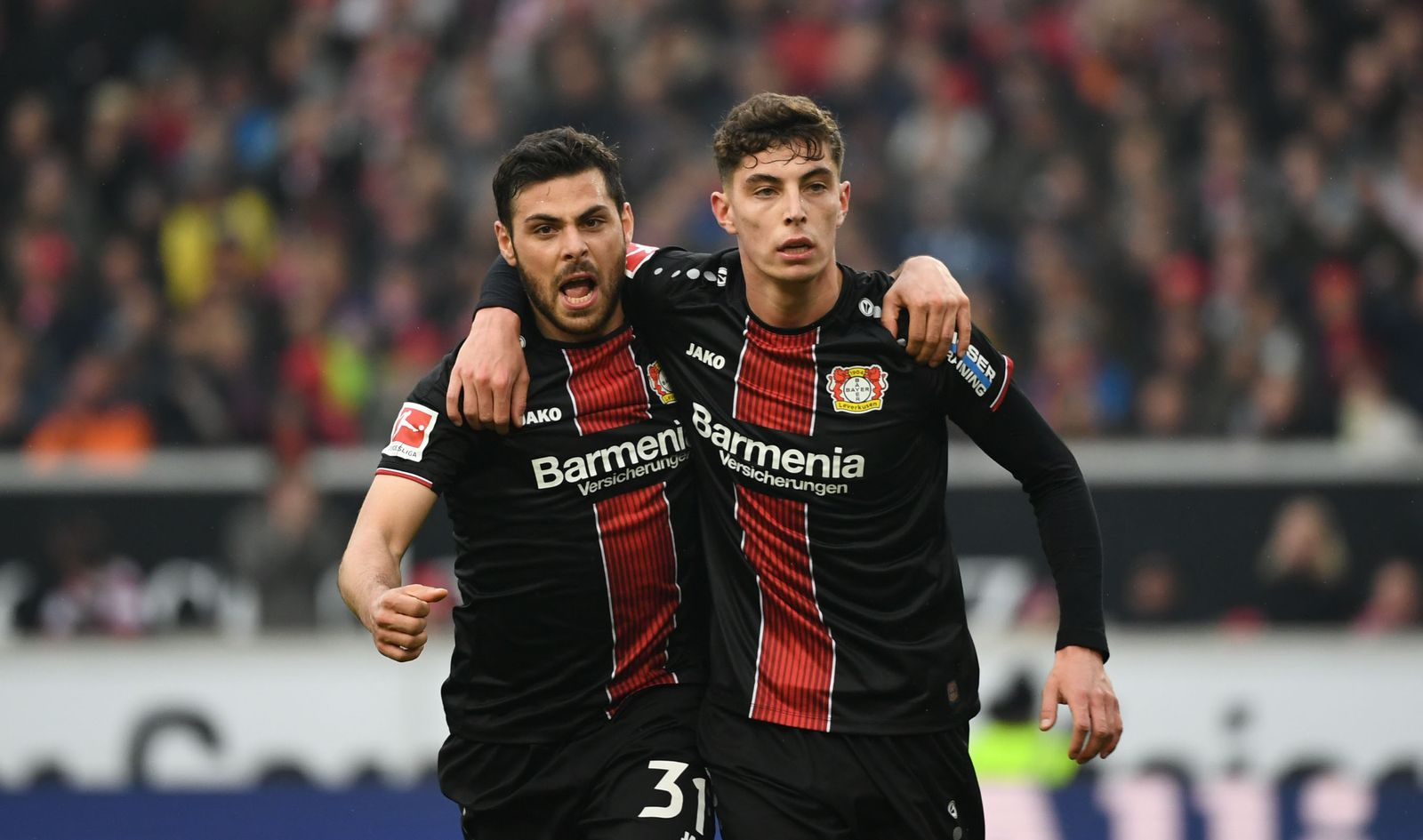 VfB Stuttgart - Bayer Leverkusen Havertz