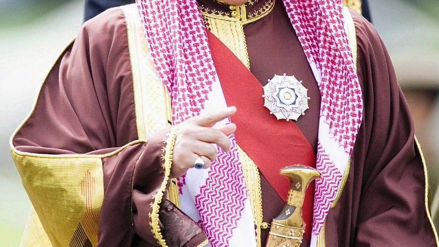 Bahrainischer Monarch Hamad