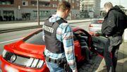 Hamburger Polizei gegen Raser und Autoposer