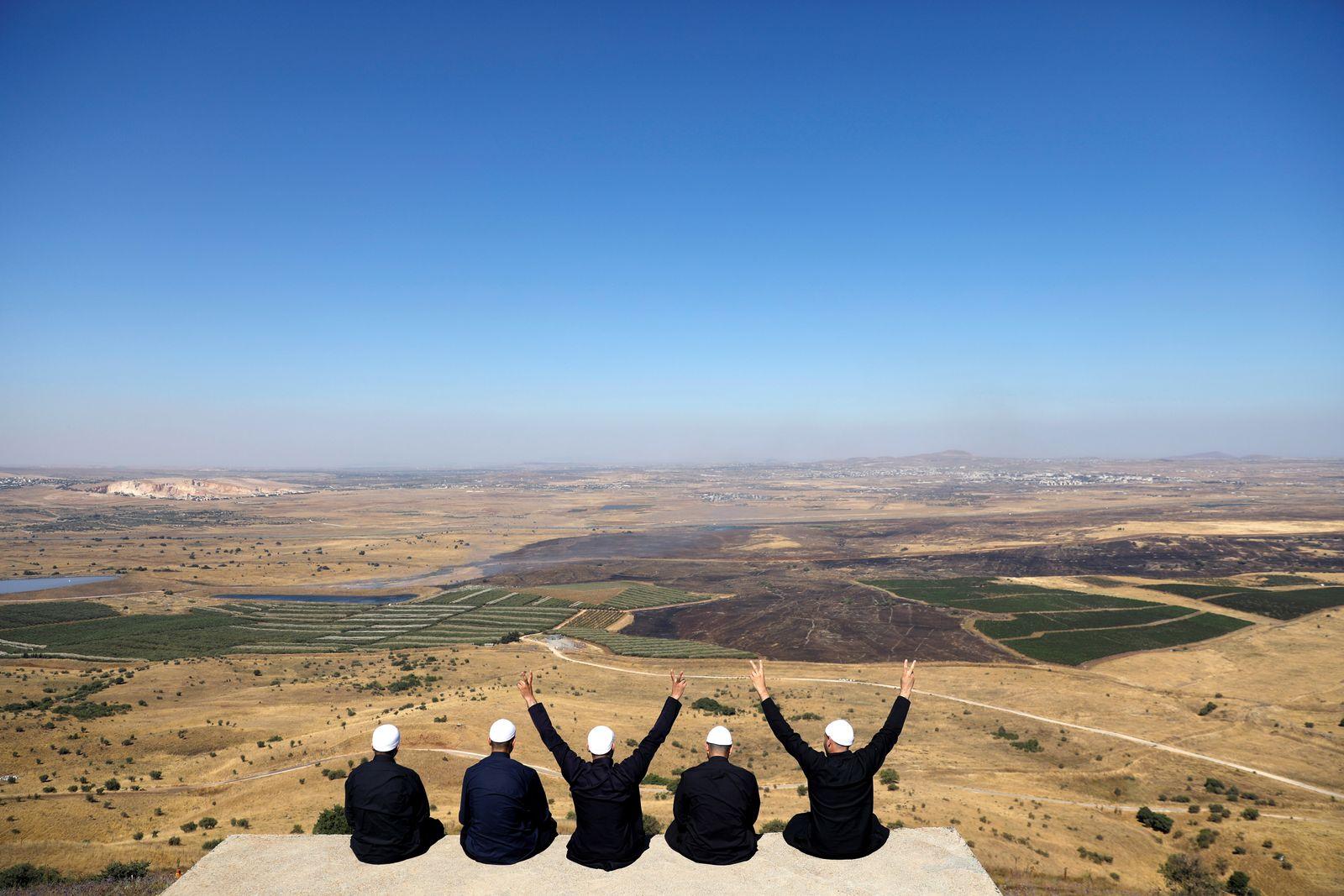EINMALIGE VERWENDUNG Israel/ Drusen
