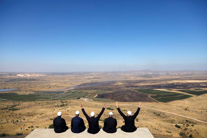 Drusen auf den Golanhöhen