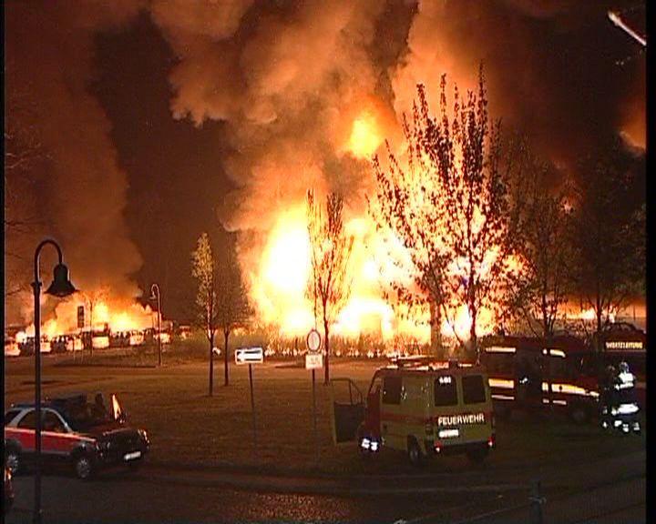 Brandanschlag auf Bundeswehr-Fahrzeuge