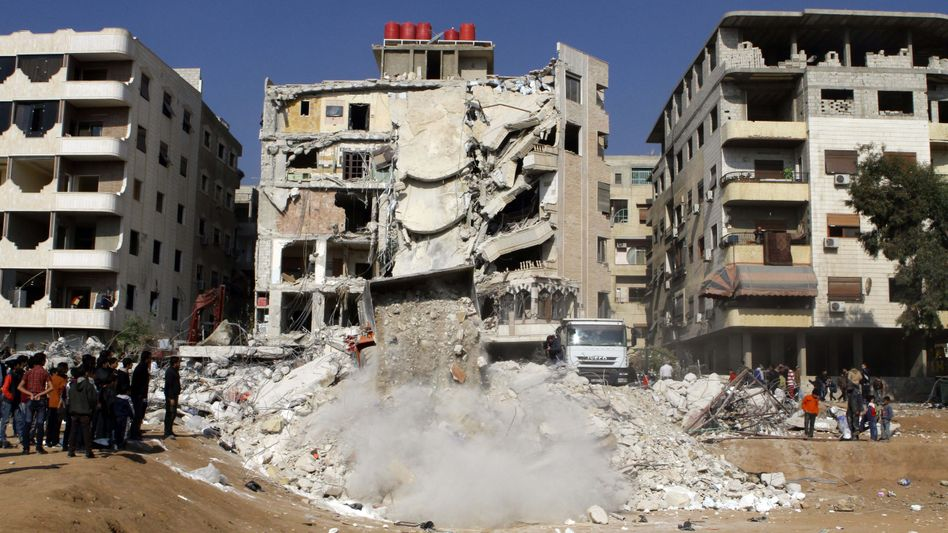 Raketenangriff bei Damaskus: Hier soll Samir Kuntar ums Leben gekommen sein