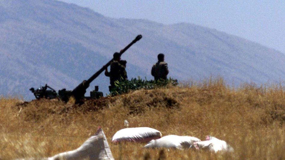 Syrische Luftabwehrkanone