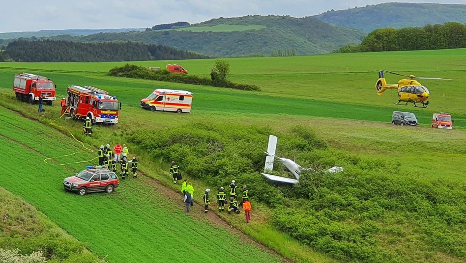 Unfallort in Rheinland-Pfalz