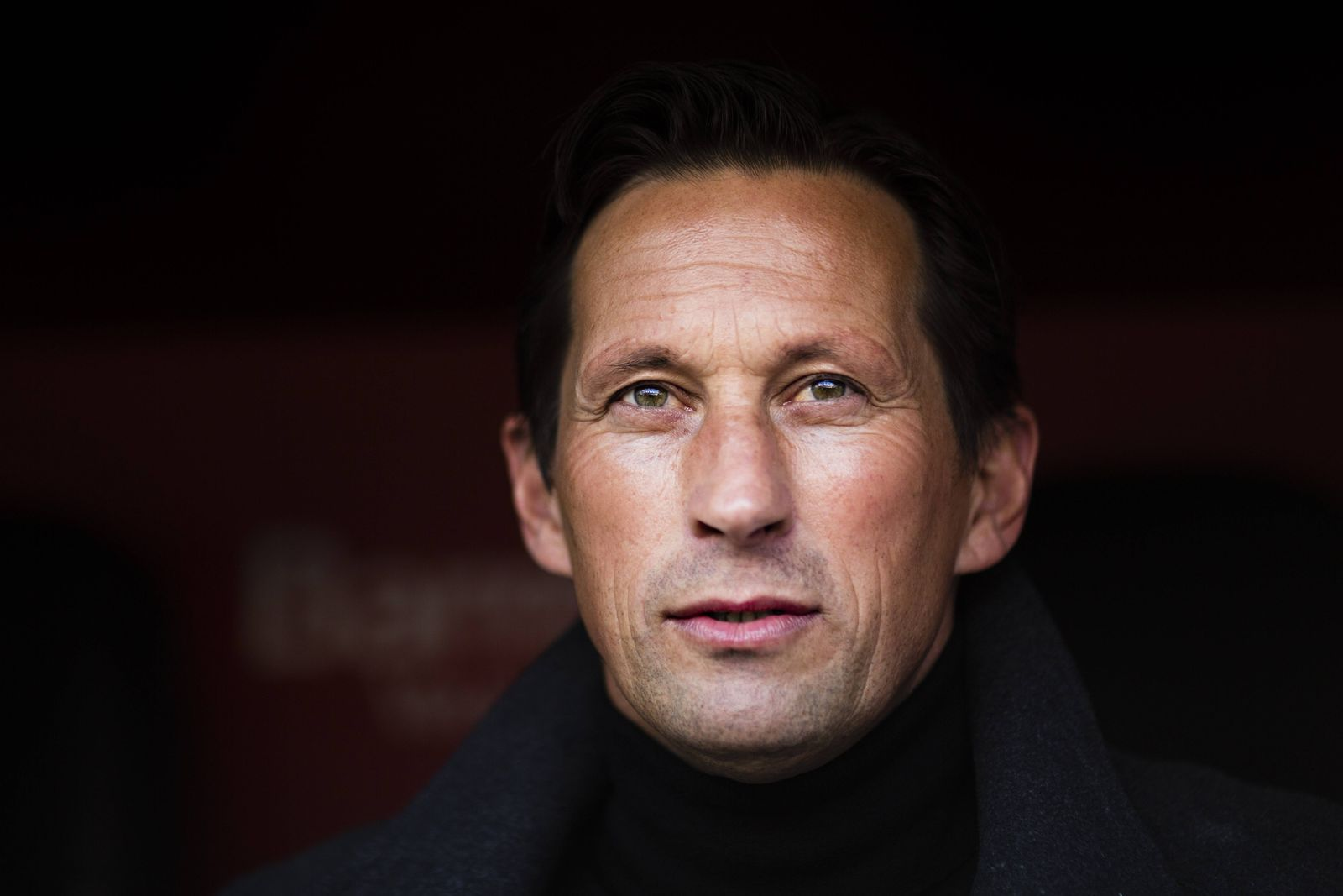Leverkusen 22 01 2017 Trainer Roger Schmidt Leverkusen Bayer Leverkusen Hertha BSC Berlin