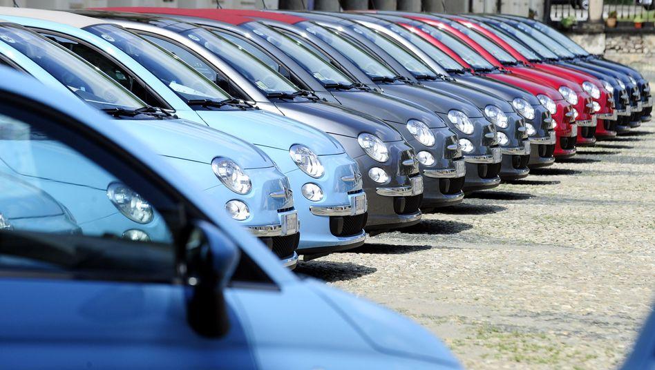 Wagen von Fiat in Turin: Italienischer Hersteller leidet unter Kaufzurückhaltung