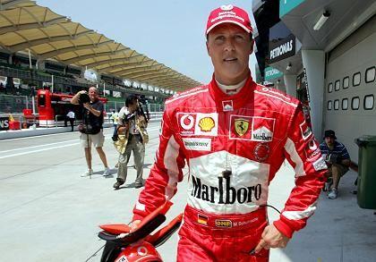 Michael Schumacher: Erfolgreiche Testfahrt