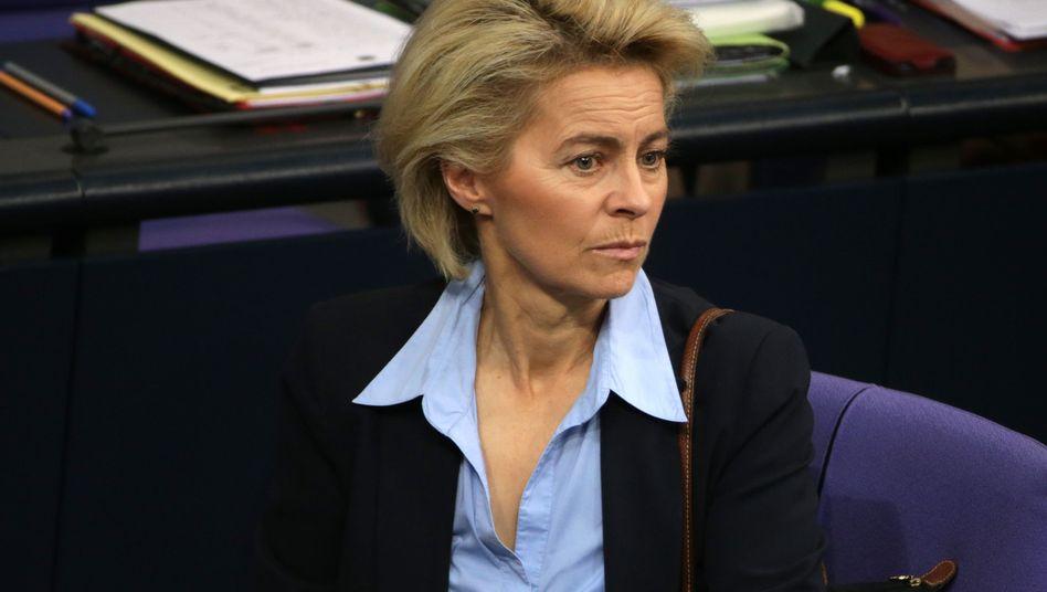 """Verteidigungsministerin von der Leyen: """"Die Risiken sind da"""""""