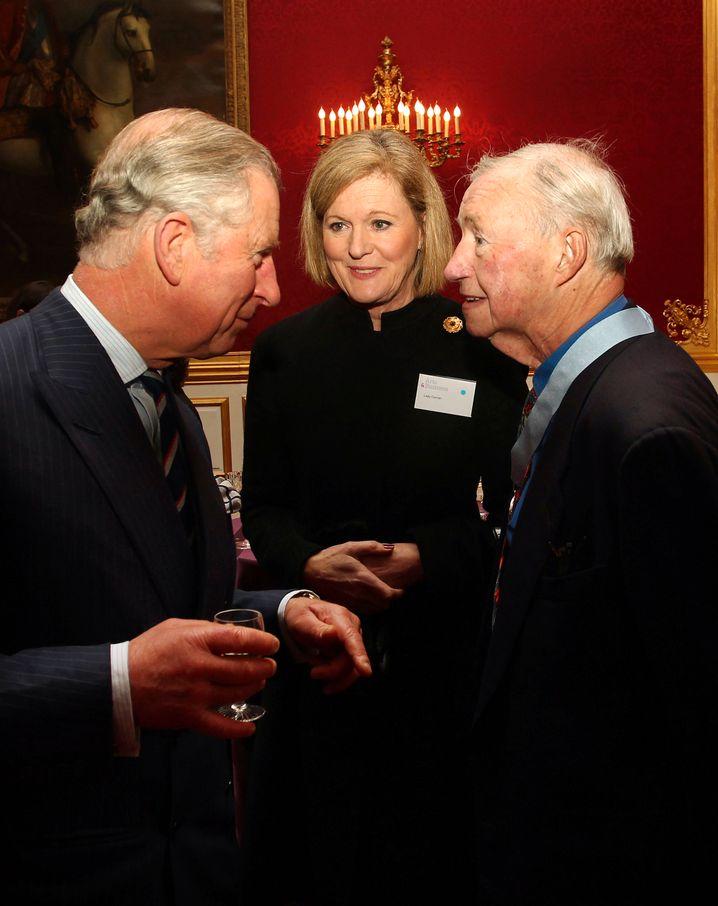 Conran im Jahr 2012 mit Prinz Charles