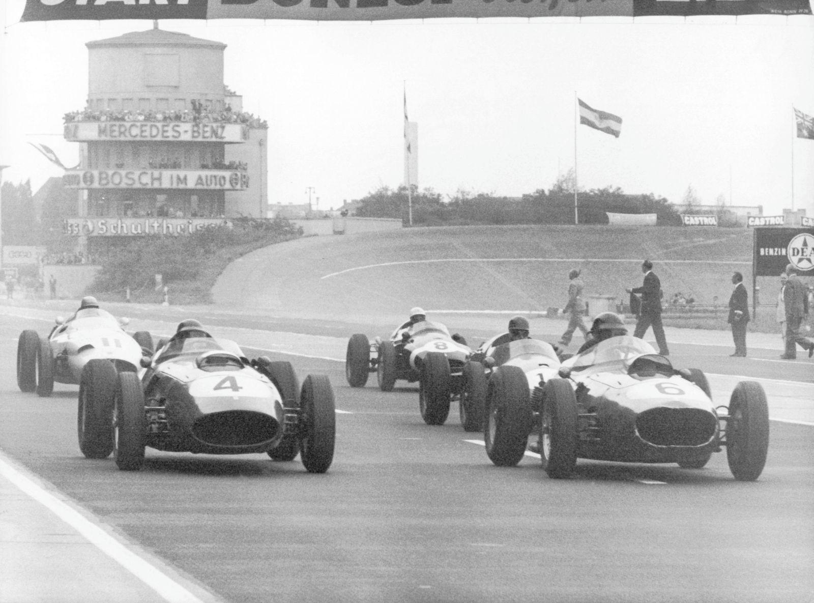 Ferrari-Triumph auf der Avus