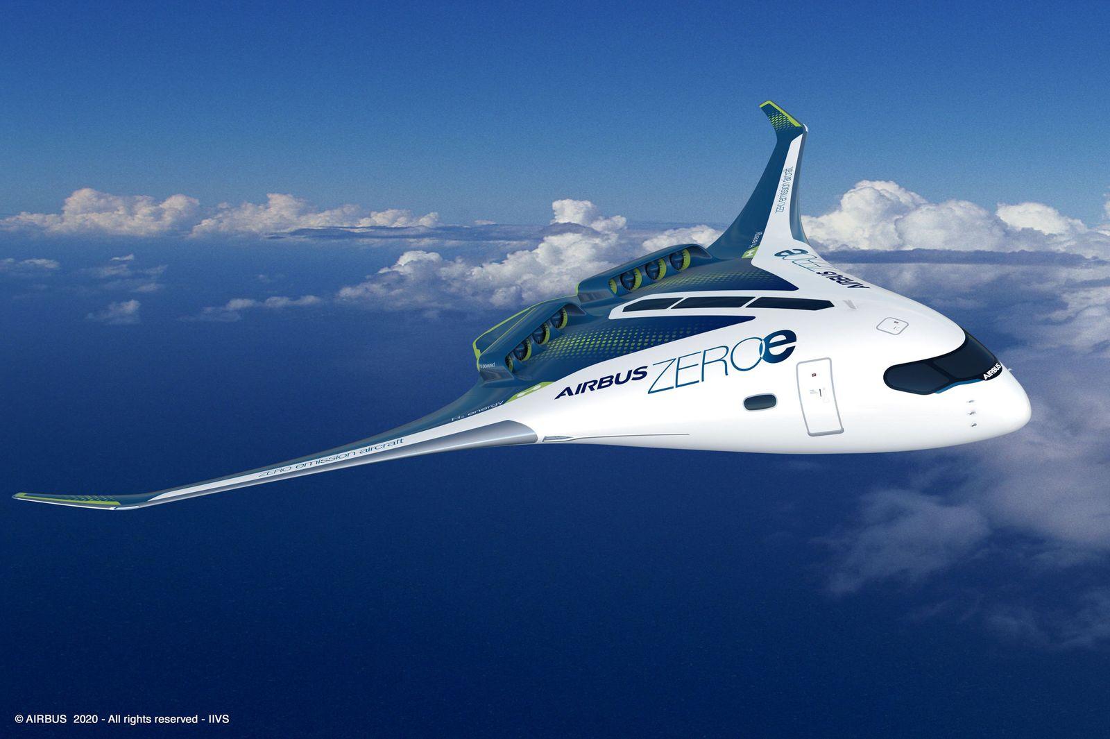 Airbus will 2035 Wasserstoff-Flugzeug bauen