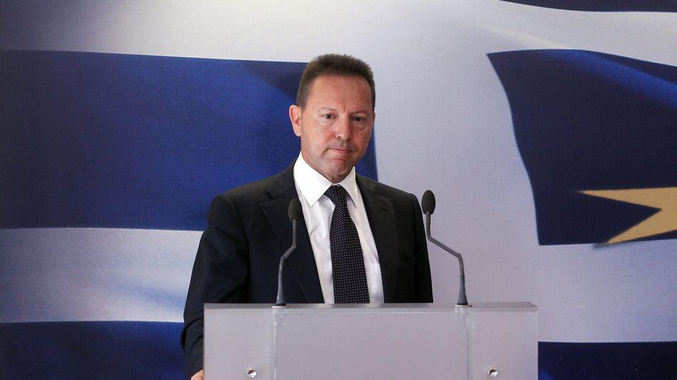 Griechenlands Finanzminister Stournaras: Poker um Sparauflagen