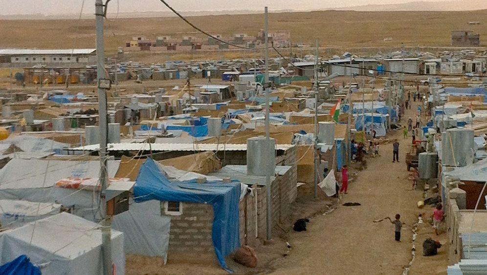 Flüchtlingslager in Kurdistan: Zuflucht vor Kämpfen und Heckenschützen