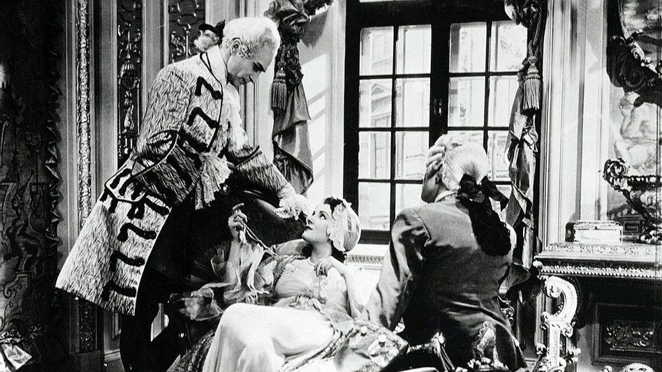 Szene aus dem 1934 in England gedrehten Film »Jew Süss« von Lothar Mendes