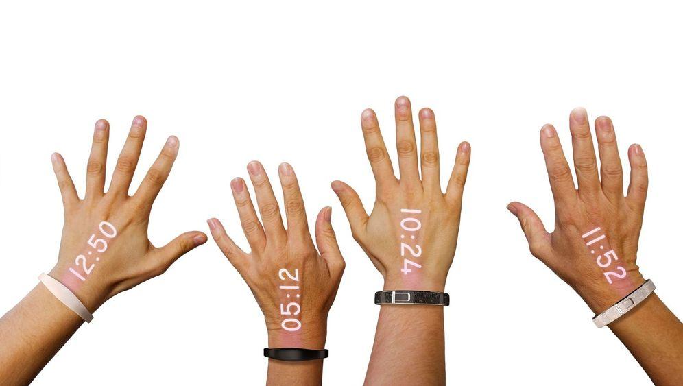 Ritot-Smartwatch: Die Uhrzeit liegt auf der Hand