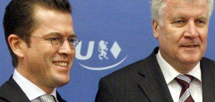 Künftiger Bundesminister Guttenberg: Seehofer zeigte sich beeindruckt von der Weltgewandtheit seines bisherigen Generalsekretärs