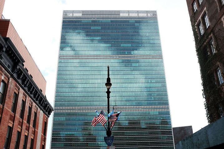 Uno-Zentrale am East River in New York