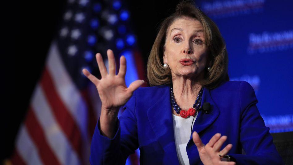 Demokratin Nancy Pelosi in Washington