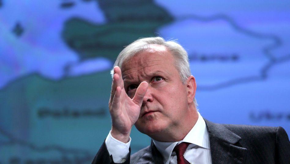 """EU-Kommissar Rehn: """"Keine überzeugenden ökonomischen Argumente"""""""