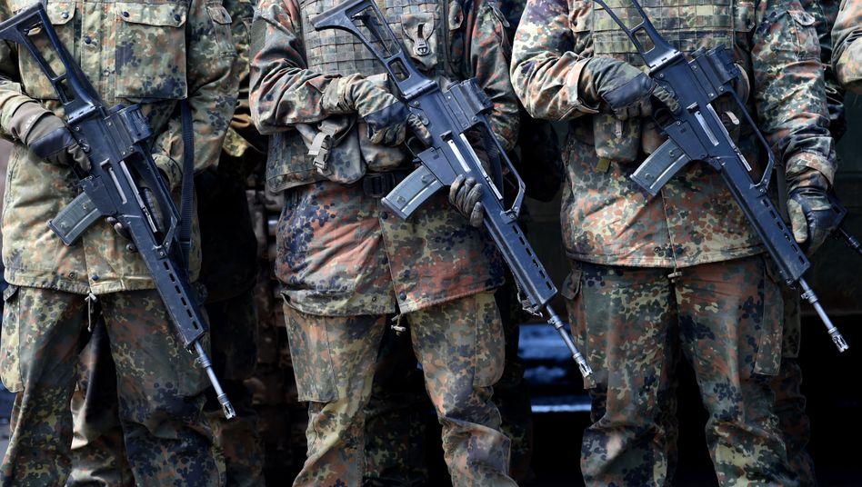 Die Bundeswehr ist ein heikles Thema in der Linken