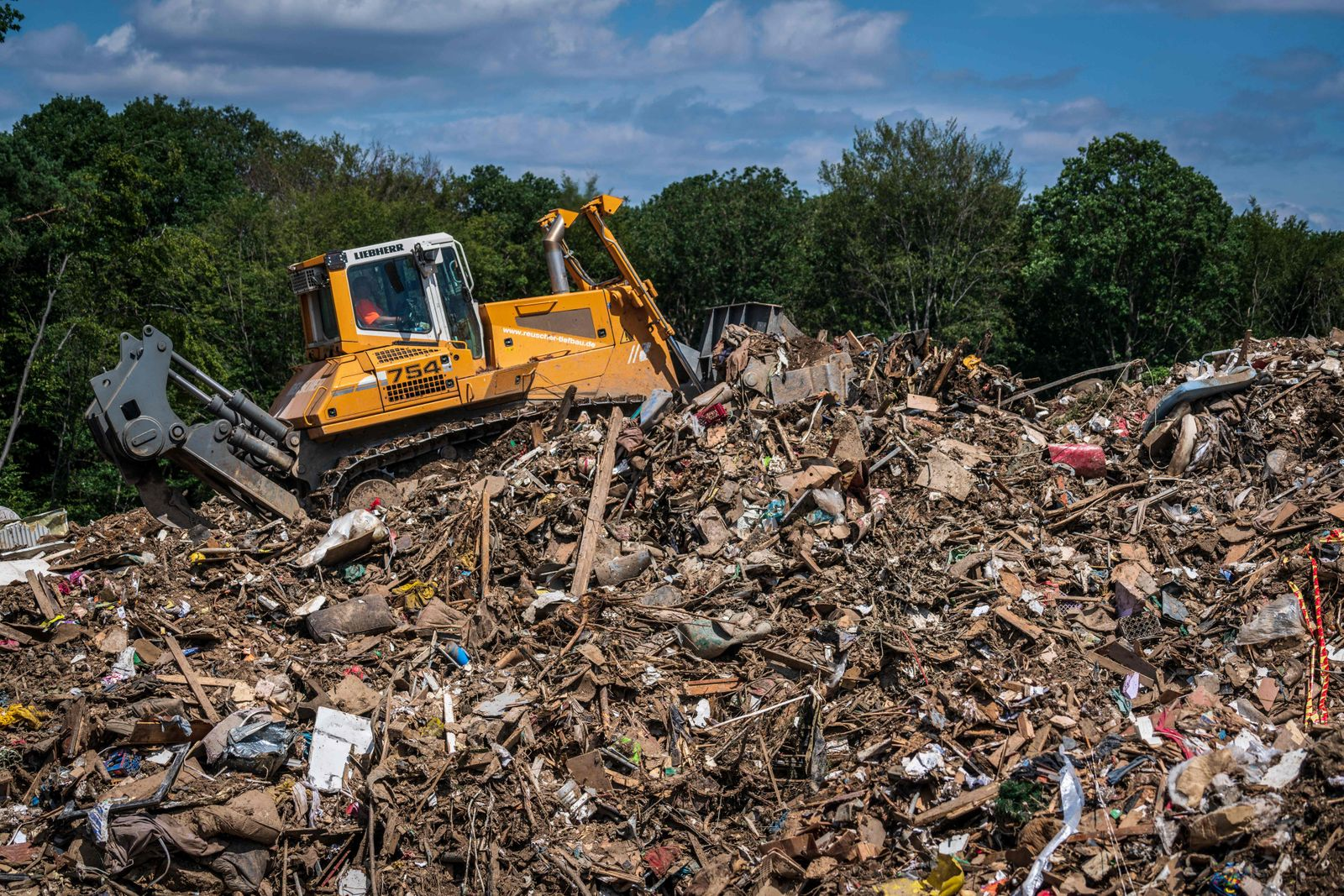 GERMANY-EUROPE-WEATHER-FLOODS-ENVIRONMENT-WASTE